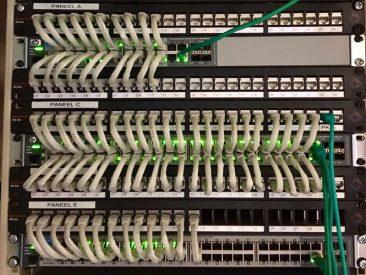 Patchkast serverkast MER SER koper cat6a netwerk