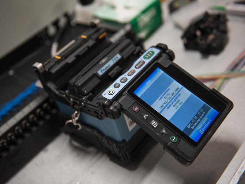 Glasvezelspecialist onze expertise opticalconnect for Zelf vijverfolie lassen